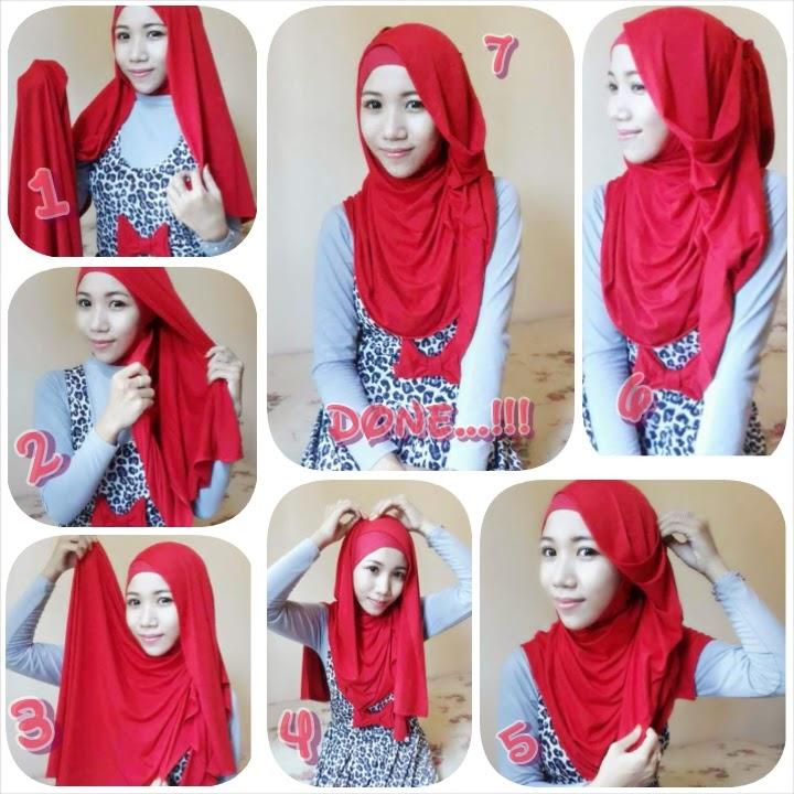 Tutorial Hijab Pashmina Spandek Cantik Dan Sederhana