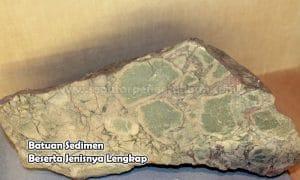 Batuan Sedimen Beserta Jenisnya Lengkap