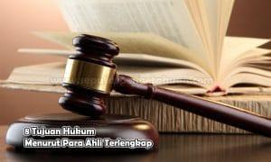 8 Tujuan Hukum Menurut Para Ahli Terlengkap