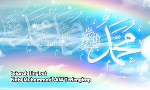 Sejarah Singkat Nabi Muhammad SAW Terlengkap