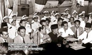 11 Macam Perjanjian Di Indonesia Terlengkap
