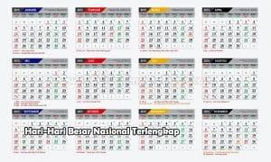 Hari-Hari Besar Nasional Terlengkap