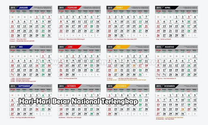 Hari-hari Besar Nasional di Indonesia (Pembahasan Terlengkap)