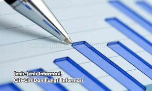 Jenis-Jenis Informasi, Ciri-Ciri Dan Fungsi Informasi