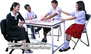 4 Standar Kompetensi Guru Berdasarkan Undang-Undang