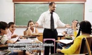 Pengembangan RPP Eksplorasi, Elaborasi Dan Konfirmasi