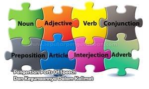 Pengertian Parts Of Speech Dan Kegunaannya Dalam Kalimat