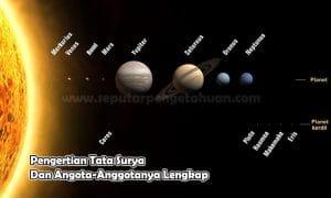 Pengertian Tata Surya Dan Angota-Anggotanya Lengkap
