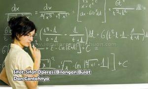 Sifat-Sifat Operasi Bilangan Bulat Dan Contohnya