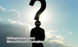10 Pengertian Hipotesis Menurut Para Ahli Terlengkap