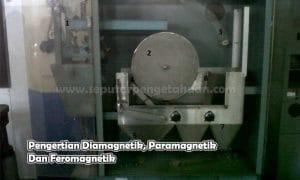 Pengertian Diamagnetik, Paramagnetik Dan Feromagnetik