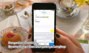Pengertian Chatting Beserta Fungsi Dan Dampaknya Lengkap