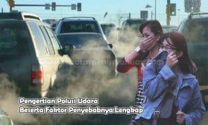Pengertian Polusi Udara Beserta Faktor Penyebabnya Lengkap
