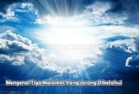 Mengenal Tiga Malaikat Yang Jarang Diketahui