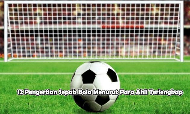 12 Pengertian Sepak Bola Menurut Para Ahli Terlengkap