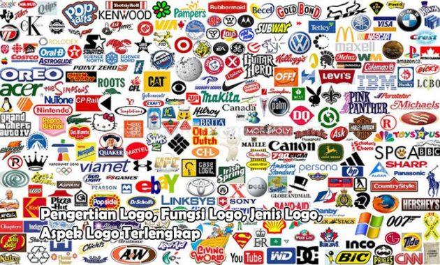 Pengertian Logo, Fungsi Logo, Jenis Logo, Aspek Logo
