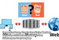 Pengertian Proxy, Fungsi, Cara Kerja, Manfaat, Yang Dapat Dilakukan, Kelebihan Dan Kekurangan Proxy Lengkap