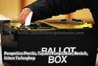 Pengertian Pemilu, Tujuan, Fungsi, Asas, Bentuk, Sistem