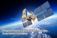 Pengertian Satelit, Cara Kerja, Jenis-Jenis dan Fungsi Satelit