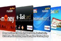 Pengertian E-Money, Manfaat, Jenis-Jenis, Kriteria, Keuntungan, Kerugian