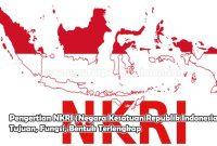 Pengertian NKRI (Negara Kesatuan Republik Indonesia), Tujuan, Fungsi, Bentuk