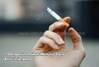 Pengertian Rokok Menurut Para Ahli