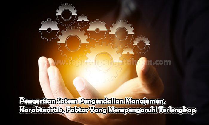 Pengertian Sistem Pengendalian Manajemen, Karakteristik, Faktor Yang Mempengaruhi
