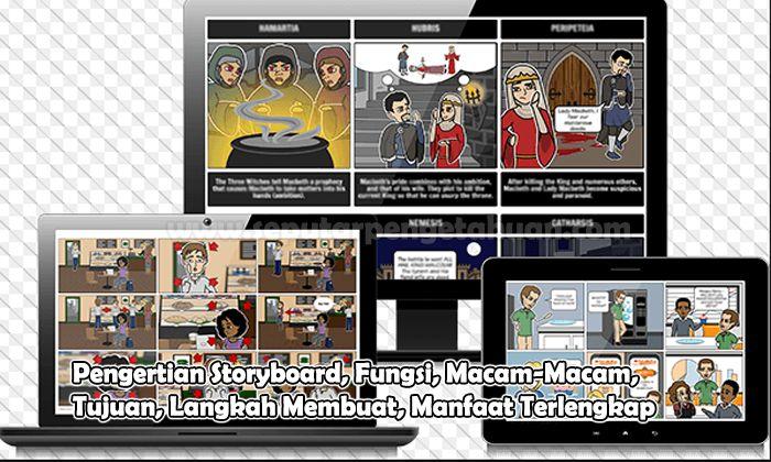 Pengertian Storyboard, Fungsi, Macam-Macam, Tujuan, Langkah Membuat, Manfaat
