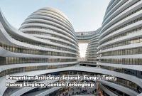 Pengertian Arsitektur, Sejarah, Fungsi, Teori, Ruang Lingkup, Contoh