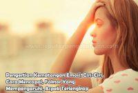 Pengertian Kematangan Emosi, Ciri-Ciri, Cara Mencapai, Faktor Yang Mempengaruhi, Aspek