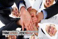 Pengertian Komitmen Organisasi Menurut Para Ahli