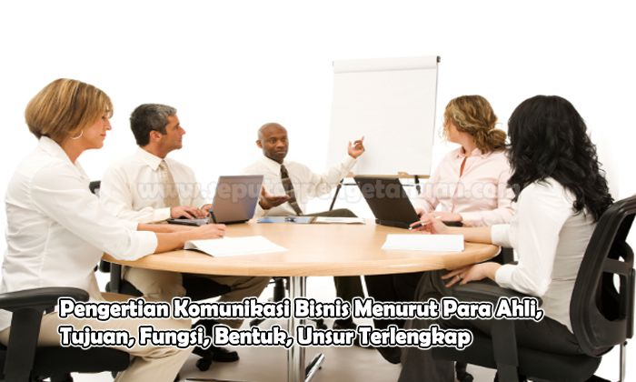 Pengertian Komunikasi Bisnis Menurut Para Ahli, Tujuan, Fungsi, Bentuk, Unsur