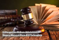 Pengertian Hukum Administrasi Negara Menurut Para Ahli