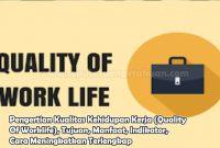 Pengertian Kualitas Kehidupan Kerja (Quality Of Worklife), Tujuan, Manfaat, Indikator, Cara Meningkatkan