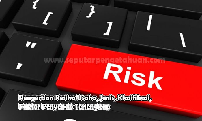 Pengertian Resiko Usaha, Jenis, Klasifikasi, Faktor Penyebab