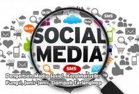 Pengertian Media Sosial, Karakteristik, Fungsi, Jenis-Jenis, Dampak