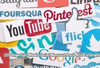 Pengertian Media Sosial Menurut Para Ahli