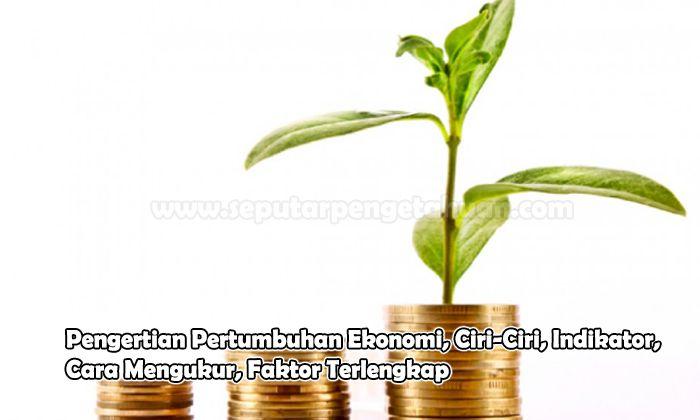 Pengertian Pertumbuhan Ekonomi, Ciri-Ciri, Indikator, Cara Mengukur, Faktor