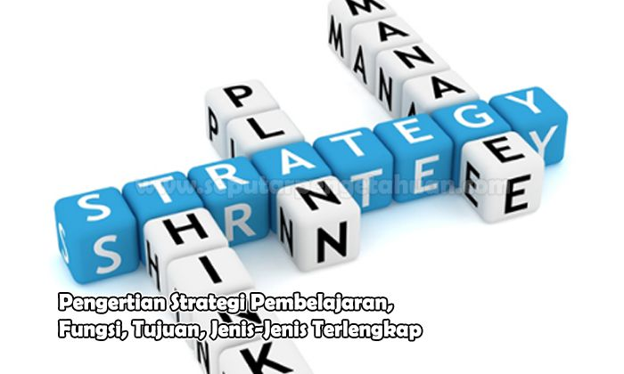 Penagertian Strategi Pembelajaran, Fungsi, Tujuan, Jenis-Jenis