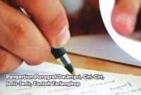 Pengertian Paragraf Deskripsi, Ciri-Ciri, Jenis-Jenis, Contoh