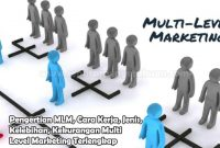 Pengertian MLM, Cara Kerja, Jenis, Kelebihan, Kekurangan Multi Level Marketing