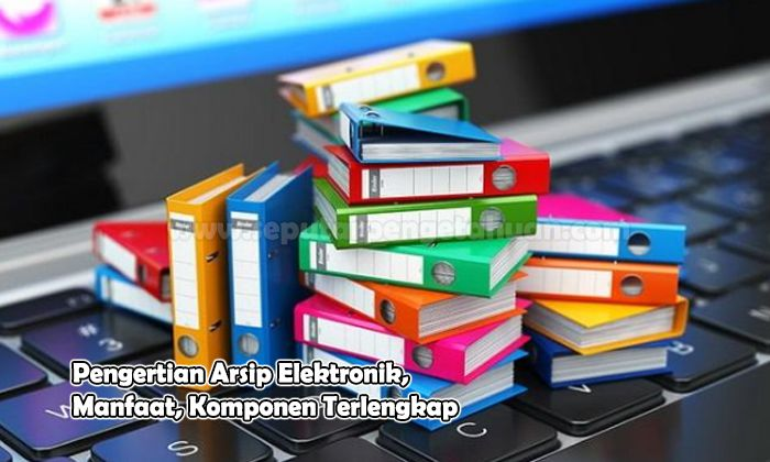 Pengertian Arsip Elektronik, Manfaat, Komponen