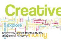 Pengertian Ekonomi Kreatif, Ciri-Ciri, Jenis, Sektor