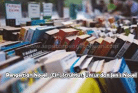 Pengertian Novel : Ciri, Struktur, Unsur dan Jenis Novel