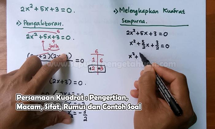 Contoh Soal Akar Pangkat 3 Kelas 5 Sd Terbaru 2019