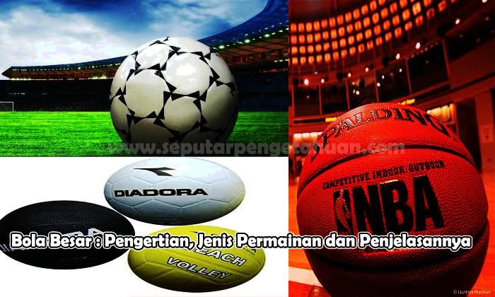 Bola Besar Pengertian Jenis Permainan Dan Penjelasan