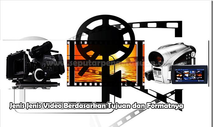 Jenis Jenis Video Berdasarkan Tujuan dan Formatnya